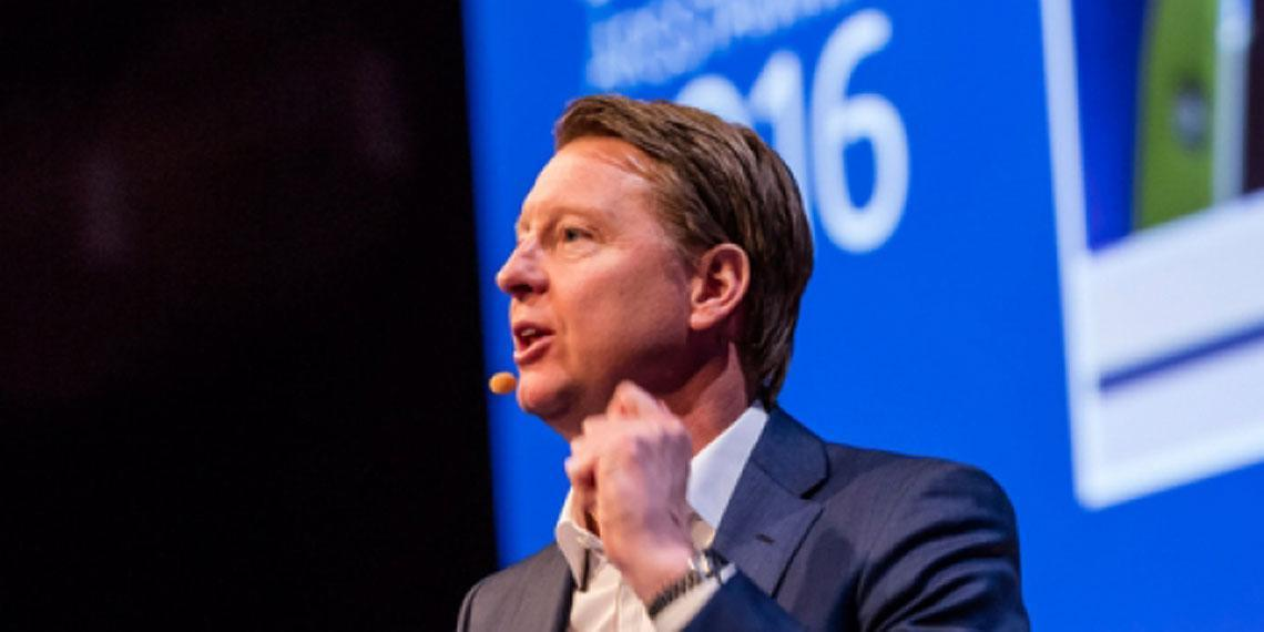 Hans Vestberg President and CEO and member of the Board of Directors of Ericsson