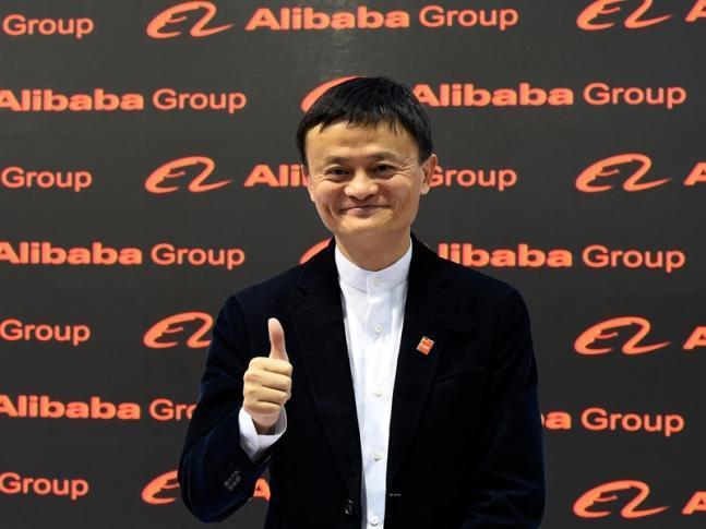 Founder and executive chairman of Chinese e-commerce company Alibaba Group Jack Ma. AFP PHOTO